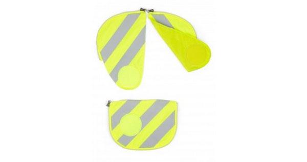 Ergobag Zubehör Pack Seitentaschen Sicherheitsset gelb