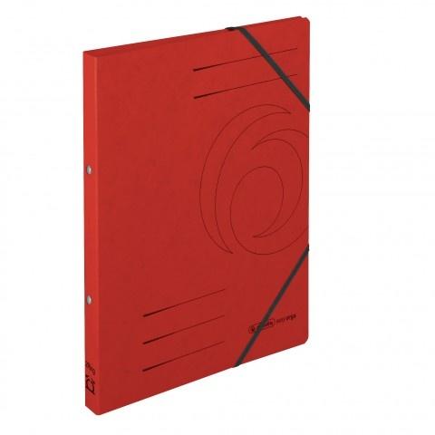 Ringhefter Colorspan-Karton A4 rot von Herlitz