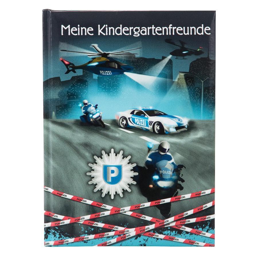 Goldbuch Kindergarten-Freundebuch Polizei
