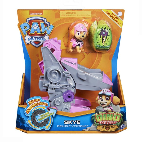 Paw Patrol DinoRescue Skye Deluxe Vehicle