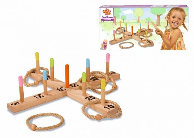 Ringwurfspiel aus Holz von Eichhorn 4505