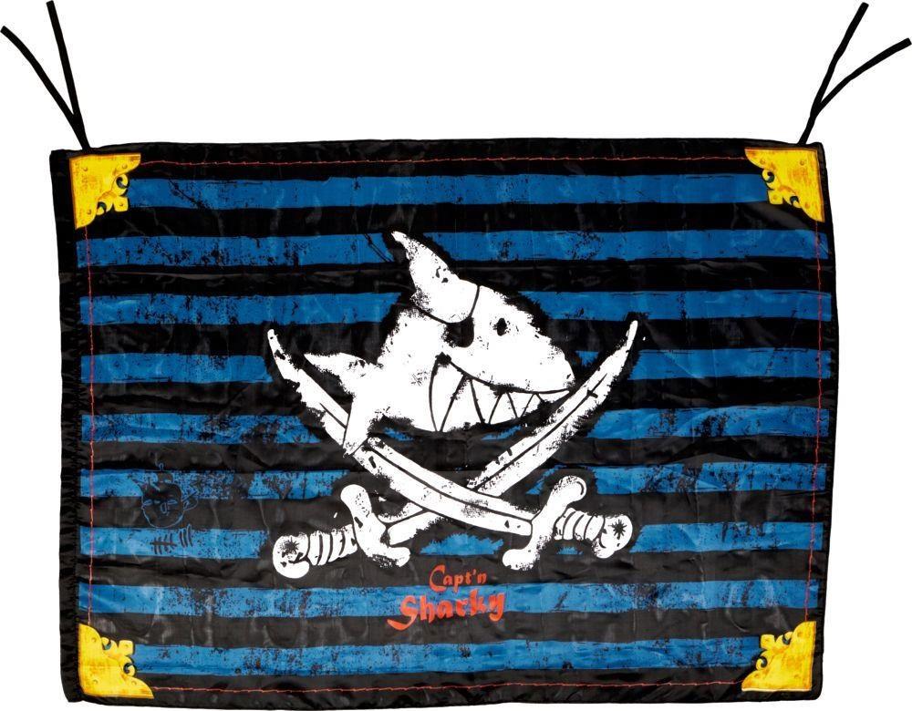 Capt´n Sharky Piratenflagge Spiegelburg 13447