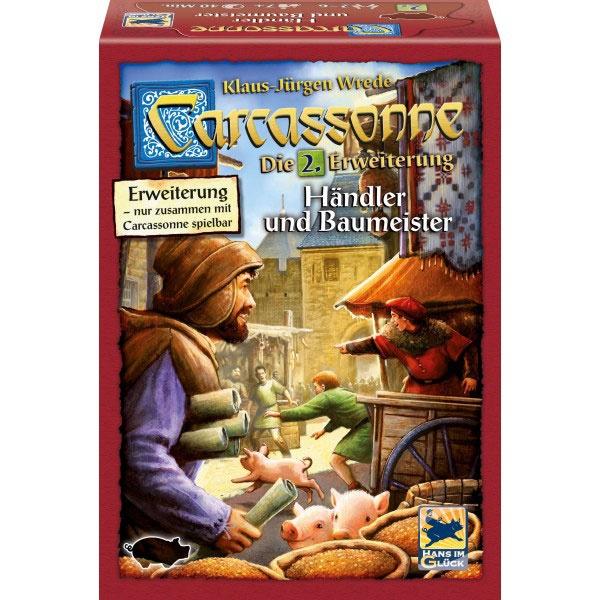 Carcassonne Händler und Baumeister 2. Erweiterung