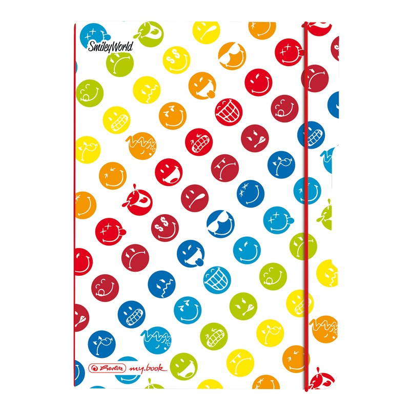 Herlitz Notizheft my.book Flex SmileyWorld Rainbow A5