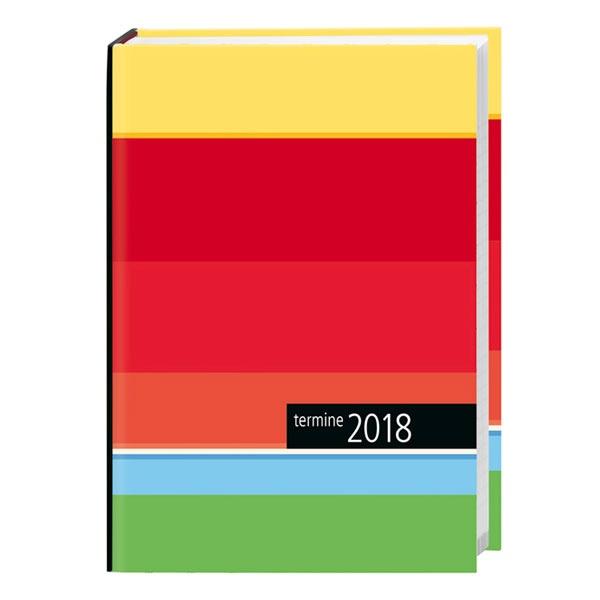 Taschenkalender streifen 2018 von Heye