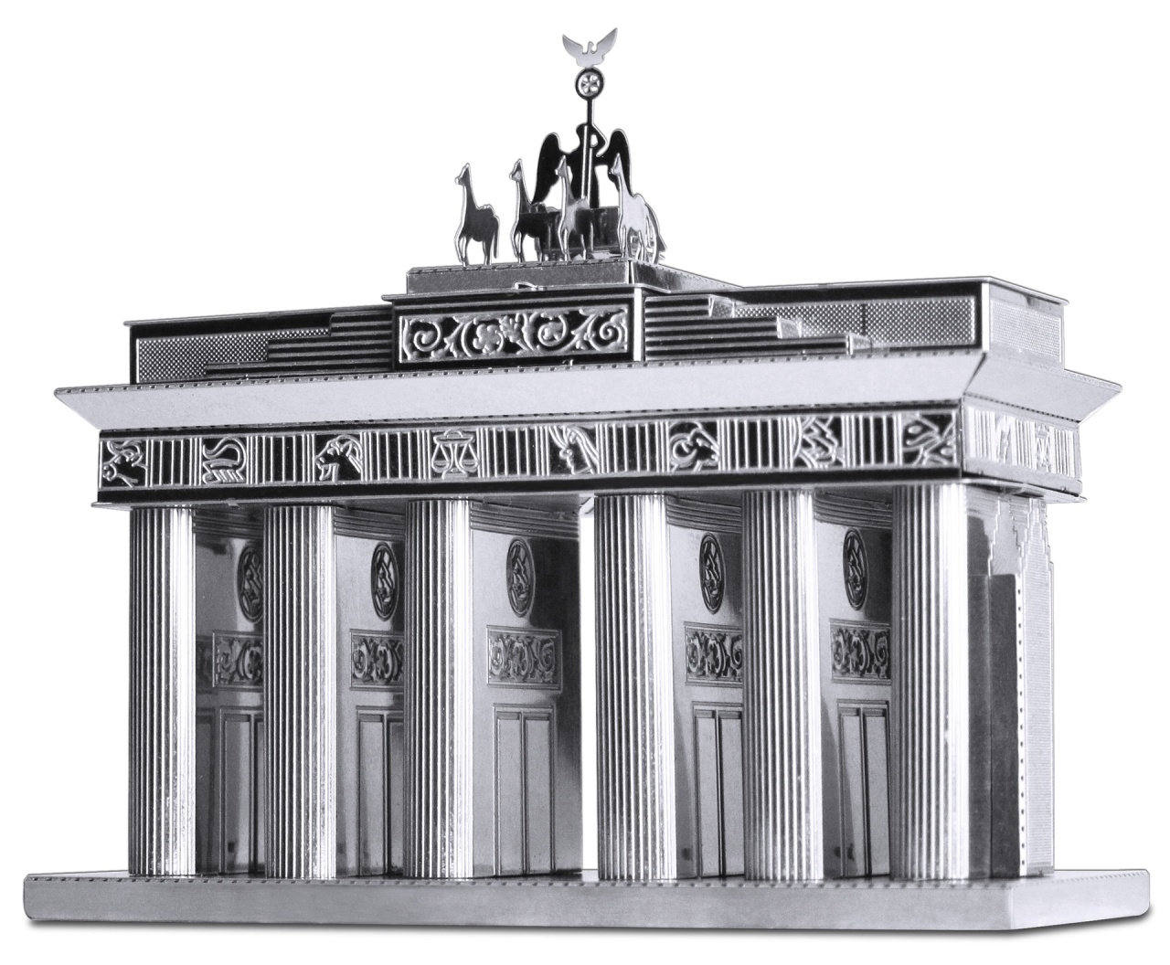 Bastelset Metal Earth Brandenburger Tor Silver Edition