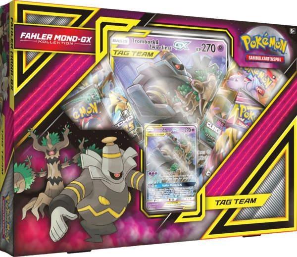Pokémon Fahler Mond GX Sammelkartenspiel