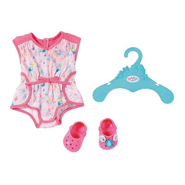 Baby Born Shorty Pyjama mit Clogs, rosa