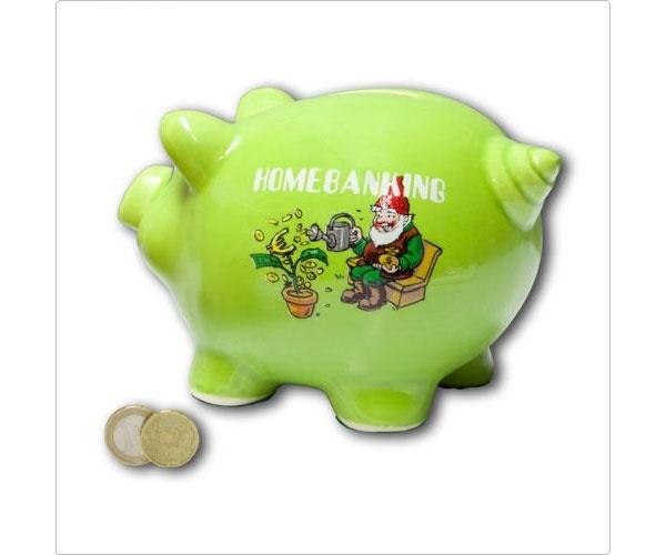 Sparschwein Homebanking