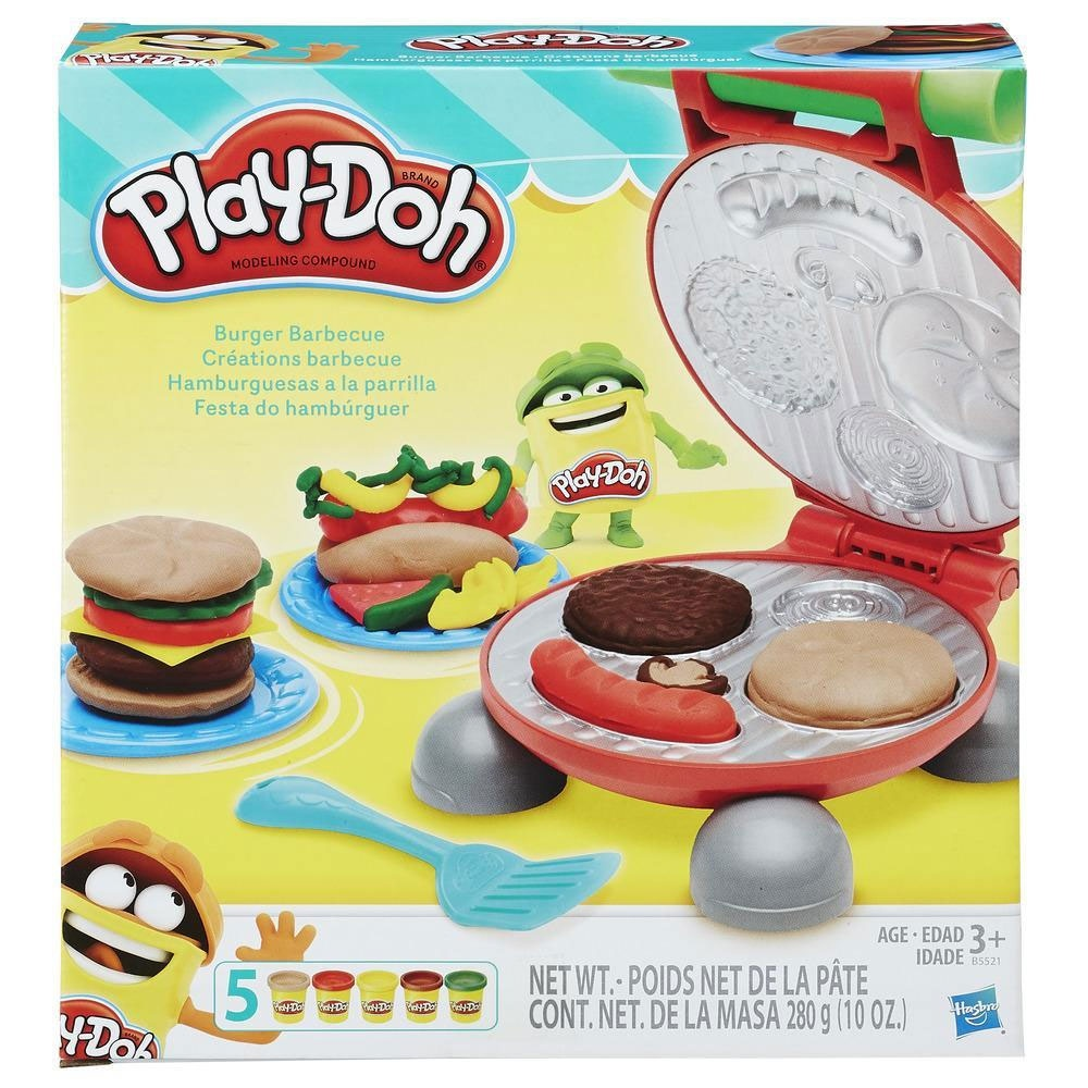 Play-Doh Kitchen Creation Burger Party