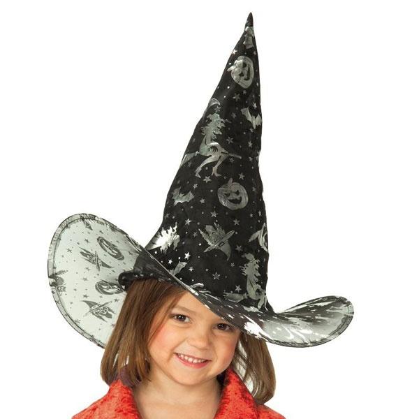Kostüm-Zubehör Hexenhut Kinder