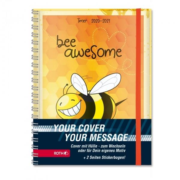 Roth Schülerkalender A5 2020/2021  Mood Timer Bee