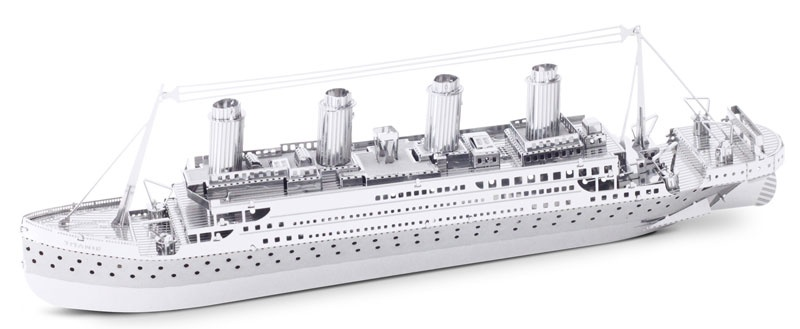 Bastelset Metal Earth Titanic Silver Edition