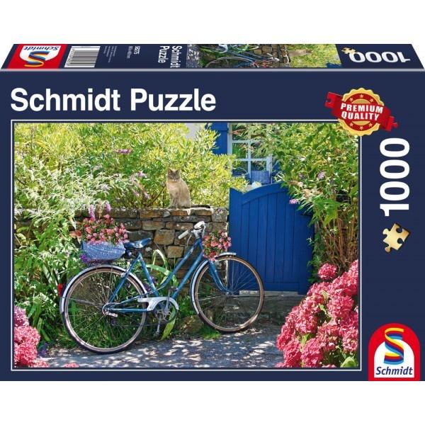 Schmidt Spiele Puzzle Landpartie mit Rad 1000 Teile