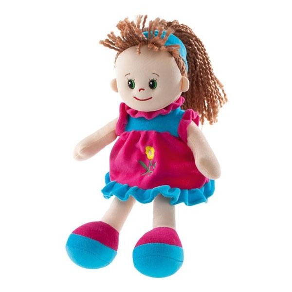 Poupetta Puppe Sarah mit hellbraunem Haar 30 cm