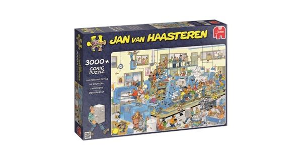 Puzzle Jan van Haasteren Der Drucker 3000 Teile
