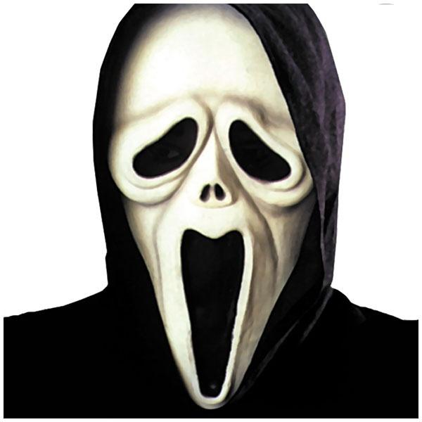 Kostüm-Zubehör Shocked Ghost Maske