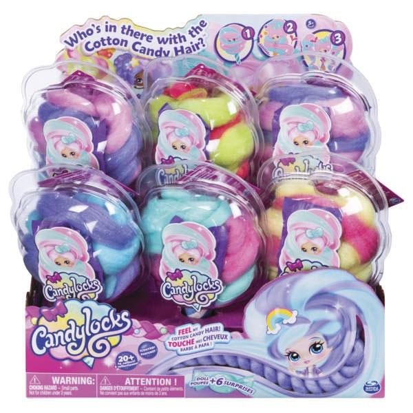 Candylocks Puppe Cady-Locks von Spinmaster