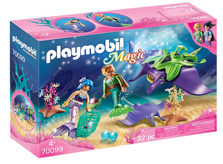 Playmobil 70099 Magic Perlensammler mit Rochen