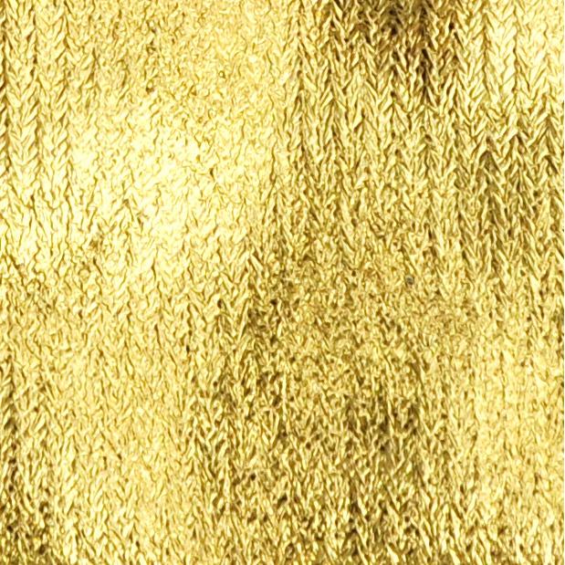 Metallic-Beutel 6 Stück  8 x 10 cm gold