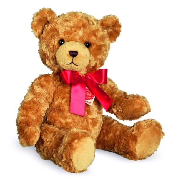 Teddy Hermann Teddy goldfarbig 40 cm mit Brummgeräusch