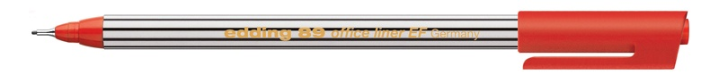 Edding 89 office liner EF Fineliner rot