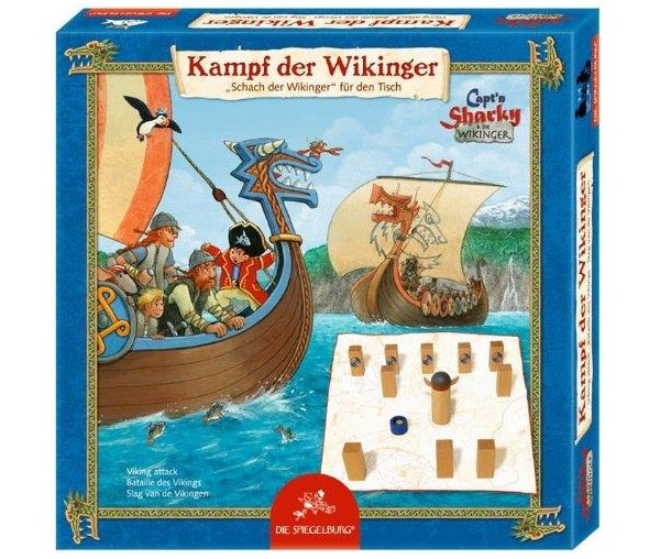 Capt´n Sharky Spiel Kampf der Wikinger 11034