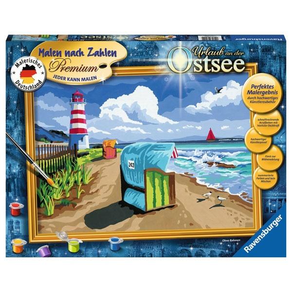 Ravensburger Malen nach Zahlen Urlaub an der Ostsee