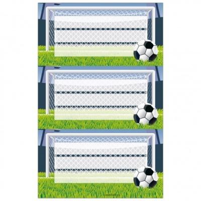 Herlitz Buchetikett Fußball