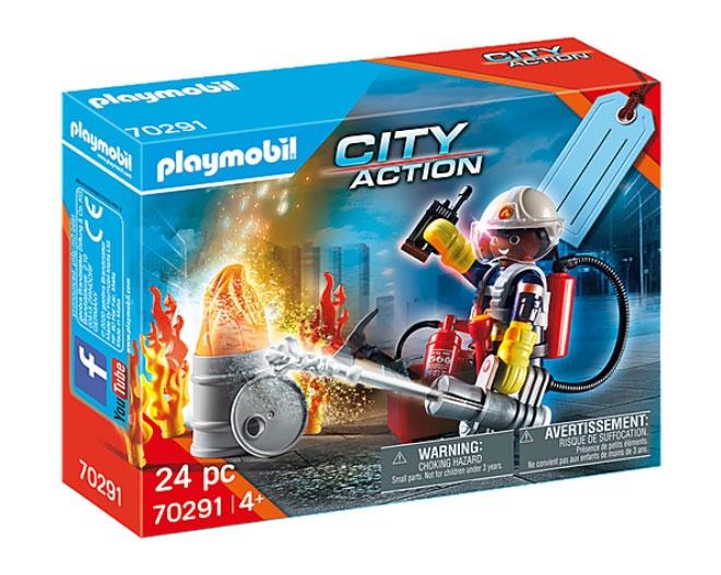 Playmobil 70291 City Action Geschenkset Feuerwehr