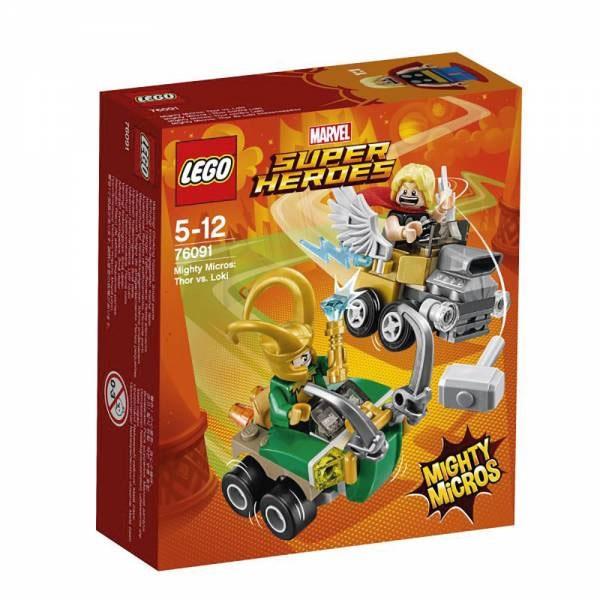 Lego Super Heroes 76091 Mighty Micros Thor vs. Loki