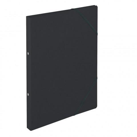 Ringhefter Colorspan-Karton A4 schwarz von Herlitz