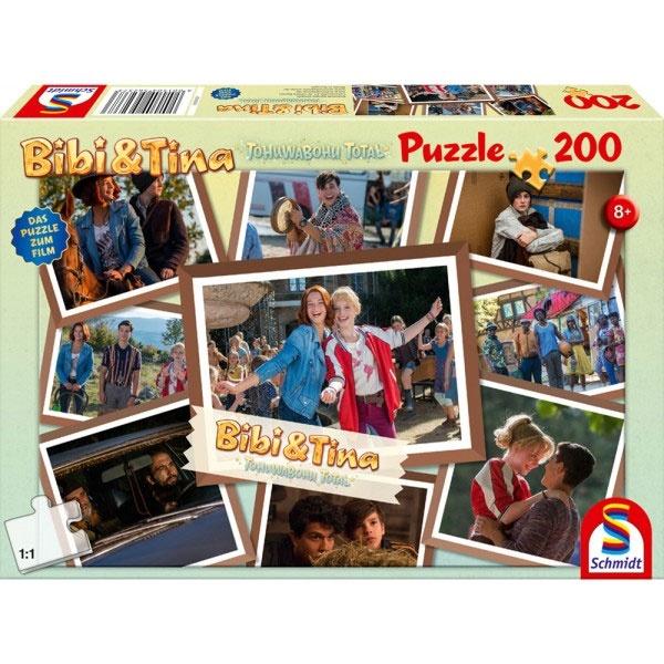 Puzzle Bibi & Tina Freundinnen für alle Fälle 200 Teile