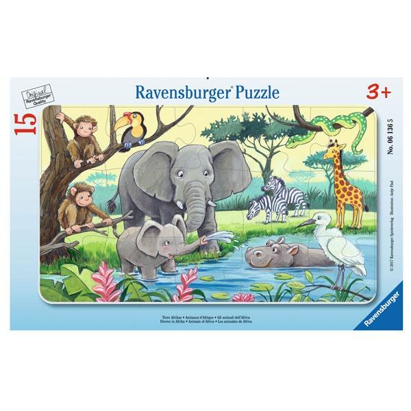 Ravensburger Puzzle Tiere Afrikas 15 Teile