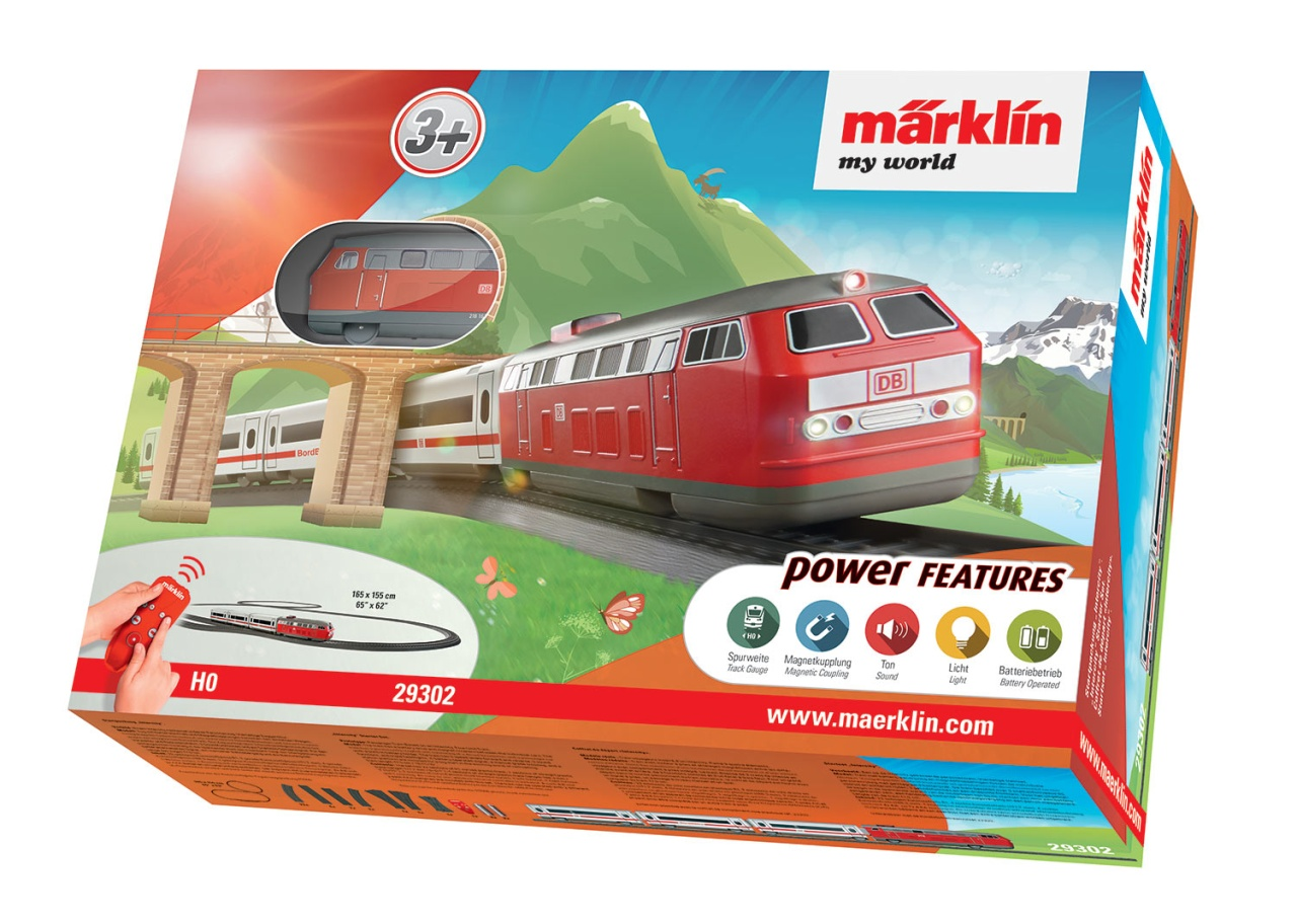 Märklin my world Intercity