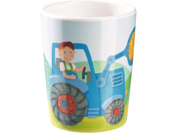 Haba Kinder-Becher Traktor
