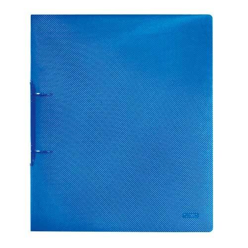 Ringbuch A4 2-Ring Mechanik transluzent blau von Herlitz