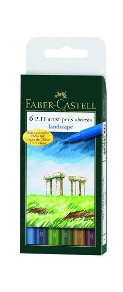 Faber Castell Zeichentusche 6 Stifte