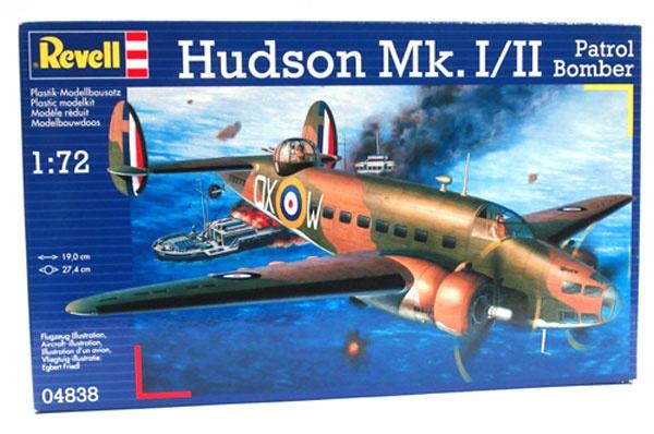 Revell 04838 Hudson Mk.I/II Patrol Bomber 1:72