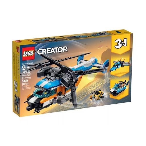 Lego Creator 31096 Doppelrotor-Hubschrauber