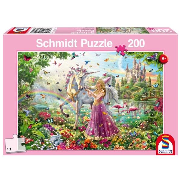 Puzzle Schöne Fee im Zauberwald 200 Teile