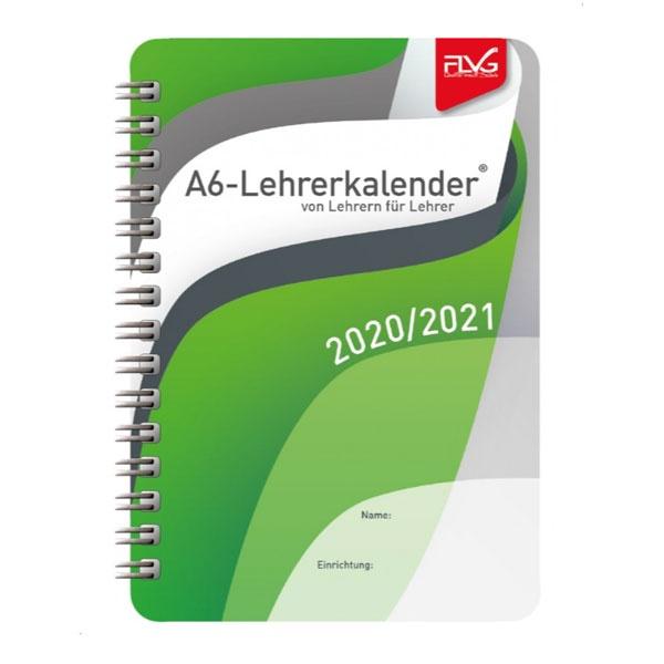 FLVG Lehrerkalender von Lehrern für Lehrer 2020/2021 (A6)