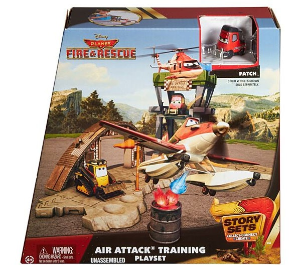 Planes Story Set Air Attack Training Feuerwache