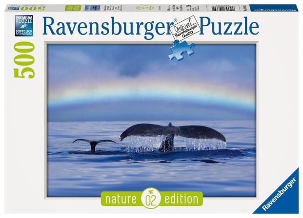 Ravensburger Puzzle Friedlicher Augenblick 500 Teile