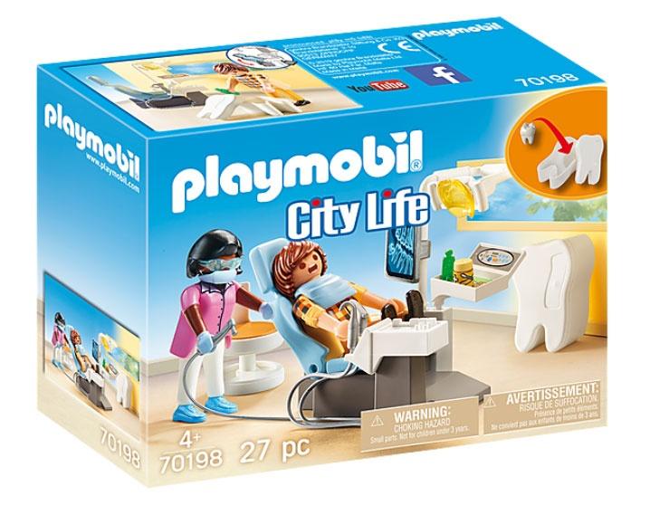 Playmobil 70198 City Life Beim Facharzt: Zahnarzt