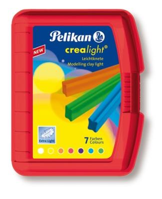 Pelikan Knetbox Crealight rot 7 Stangen