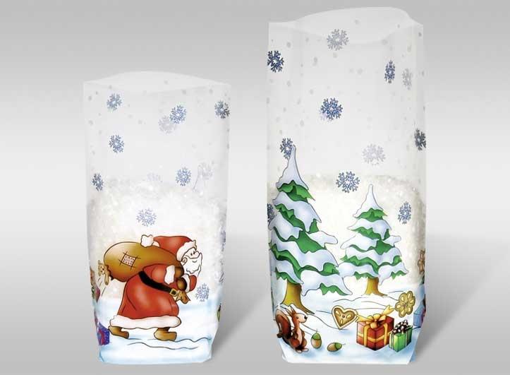 Geschenk-Bodenbeutel Weihnachten