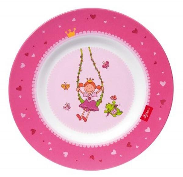 Melamin Teller Pinky Queeny