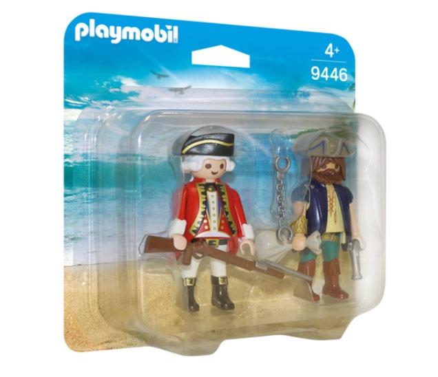 Playmobil 9446 Pirates Duo Pack Pirat und Soldat