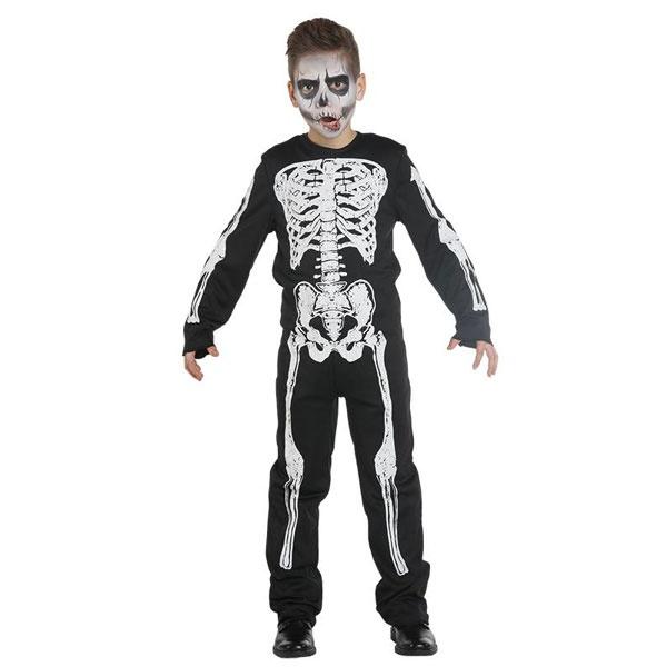 Kostüm Skelett Boy 140